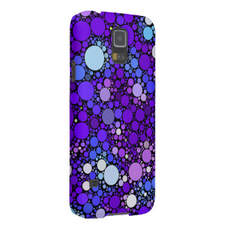 Zazzy Bubbles, blue Galaxy S5 Case