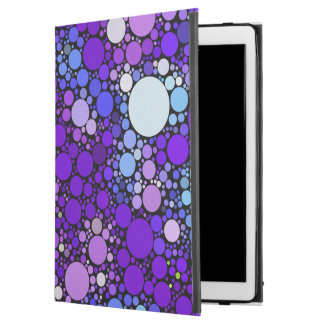 "Zazzy Bubbles, blue iPad Pro 12.9"" Case"