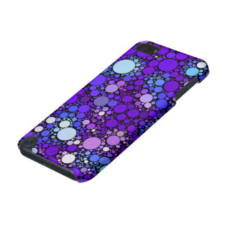 Zazzy Bubbles, blue iPod Touch (5th Generation) Cases