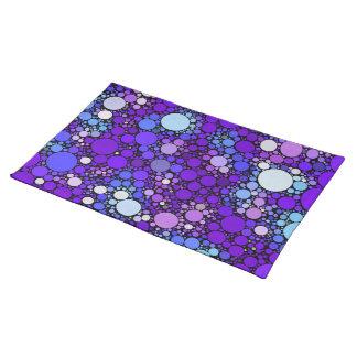 Zazzy Bubbles, blue Placemat
