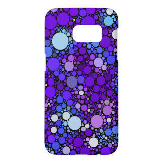 Zazzy Bubbles, blue Samsung Galaxy S7 Case