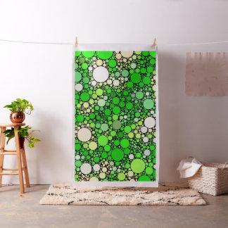 Zazzy Bubbles,green Fabric