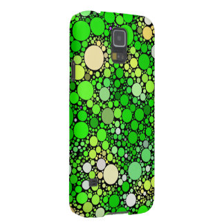 Zazzy Bubbles,green Galaxy S5 Case