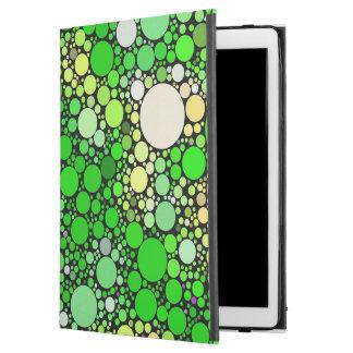 "Zazzy Bubbles,green iPad Pro 12.9"" Case"