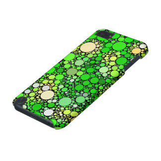 Zazzy Bubbles,green iPod Touch (5th Generation) Cover