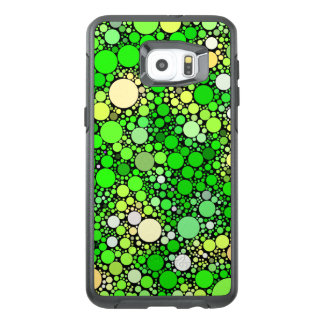Zazzy Bubbles,green OtterBox Samsung Galaxy S6 Edge Plus Case