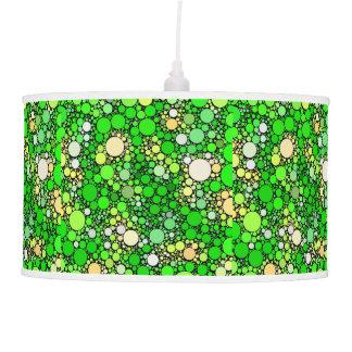 Zazzy Bubbles,green Pendant Lamp