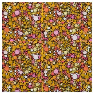 Zazzy Bubbles,orange Fabric