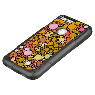 Zazzy Bubbles,orange OtterBox Commuter Google Pixel XL Case