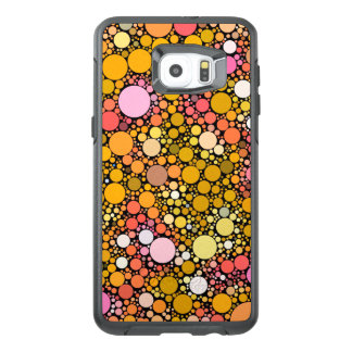 Zazzy Bubbles,orange OtterBox Samsung Galaxy S6 Edge Plus Case