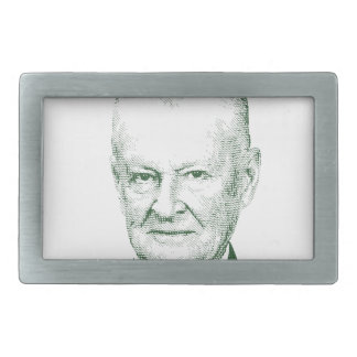 Zbigniew Brzezinski in God We trust Belt Buckle