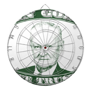Zbigniew Brzezinski in God We trust Dartboard
