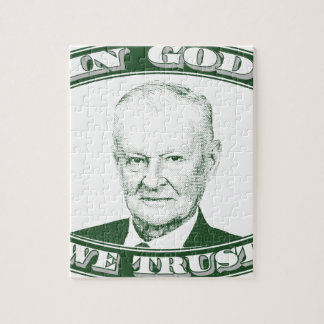 Zbigniew Brzezinski in God We trust Jigsaw Puzzle