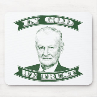 Zbigniew Brzezinski in God We trust Mouse Pad