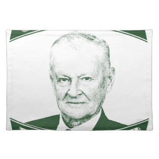 Zbigniew Brzezinski in God We trust Placemat
