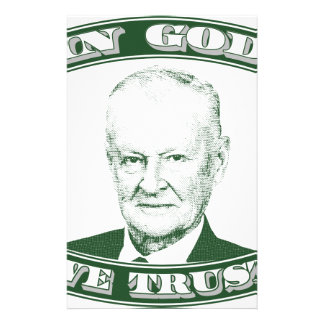 Zbigniew Brzezinski in God We trust Stationery