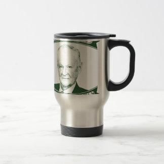 Zbigniew Brzezinski in God We trust Travel Mug
