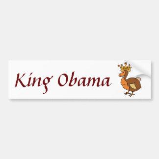 ZC- King Obama sticker Bumper Sticker