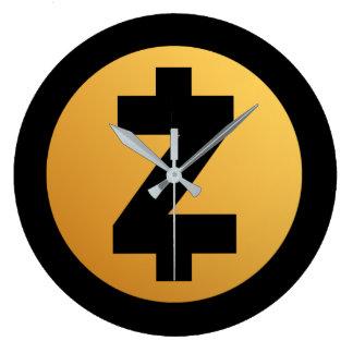 Zcash (ZEC) Coin Crypto Clock