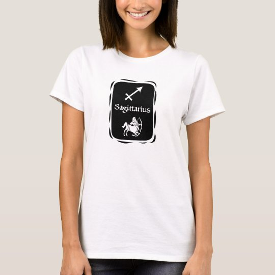 (ZD3) SAGITTARIUS Zodiac Astrology Sign T-Shirt