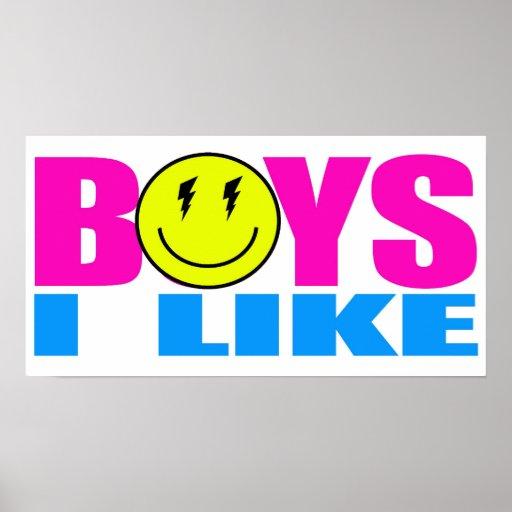 ZE! - BOYS I LIKE (Poster)