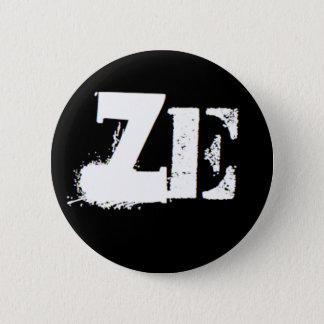 """Ze"" is my pronoun 2 Inch Round Button"