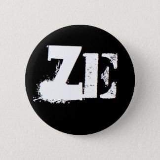 """Ze"" is my pronoun 2 Inch Round Button"