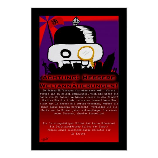 Ze Kaiser Poster