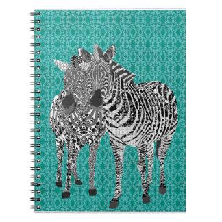 Zeb Zenya Blue Notebook