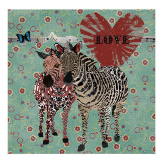 Zeb & Zenya Love Poster