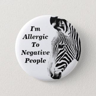 Zebra_ 2 Inch Round Button