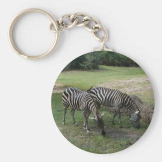 Zebra #2 Keychain