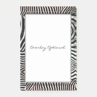 Zebra 3 post-it notes