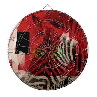 Zebra 4.0 Abstract Contemporary Art Dart Boards