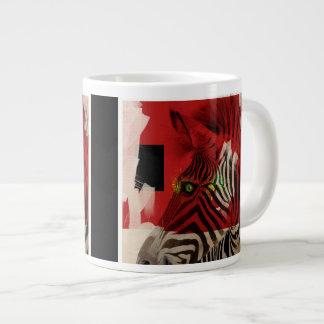 Zebra 4.0 Abstract Large Coffee Mug