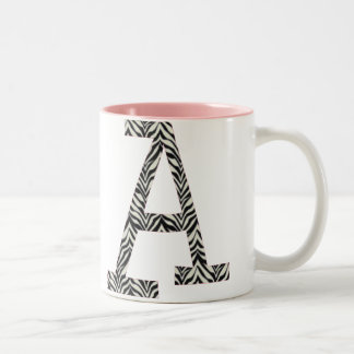 Zebra A Coffee Mug