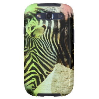 Zebra Abstract Samsung Galaxy S3 Cover