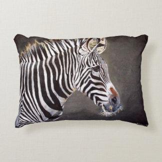 Zebra Accent Pillow