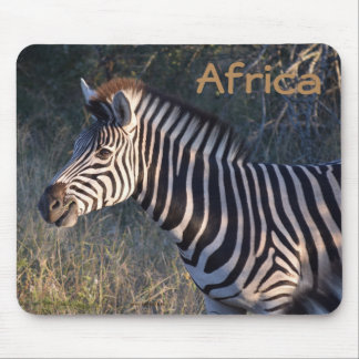 Zebra Africa Mouse Pad