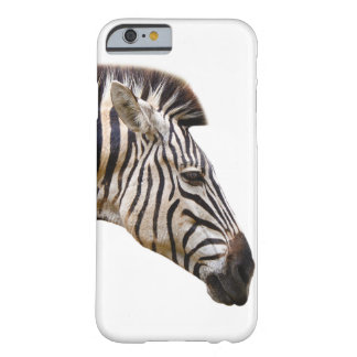 Zebra african wild jungle animal photo barely there iPhone 6 case