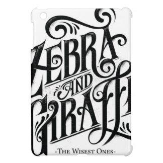 ZEBRA AND GIRAFFE THE WISEST ONES iPad MINI COVER