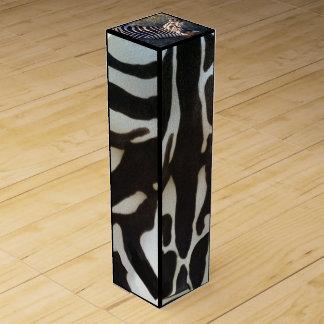 Zebra Animal Print Wine Box