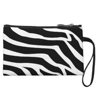 Zebra Animal Print Wristlet