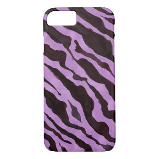 Zebra Animal Skin Pattern Mod Modern Chic iPhone 7 Case