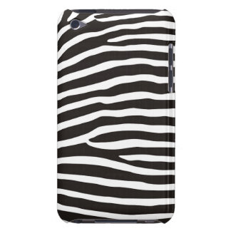 zebra animal skin print barely there iPod cases