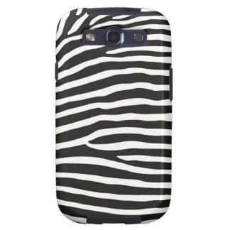 zebra animal skin print galaxy s3 cases