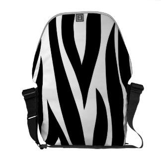 Zebra animal stripes pattern courier bags