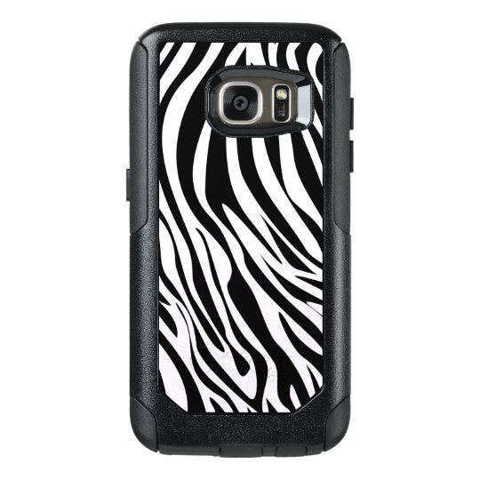 Zebra Animal Stripes Pattern OtterBox Samsung Galaxy S7 Case
