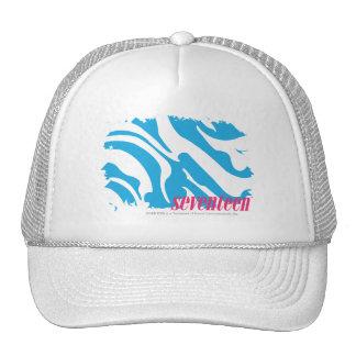 Zebra Aqua 4 Mesh Hat