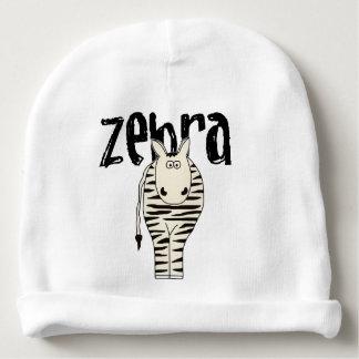 Zebra Baby Beanie